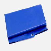 Brandvertragend afdekzeil 3x3m PVC 600 gr/m² NVO norm M2 - Blauw