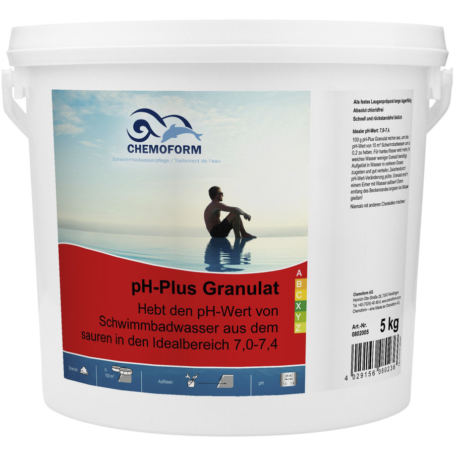 PH Plus voor zwembad 5kg