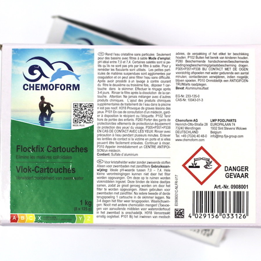 Flocculant for swimming pool (1 kg)