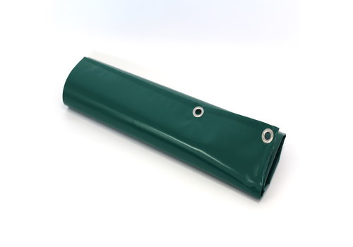 Afdekzeil 4x5 PVC 650 - Groen