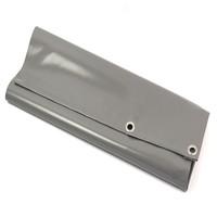Tarp 9x9 PVC 900 eyelets 50cm - Grey