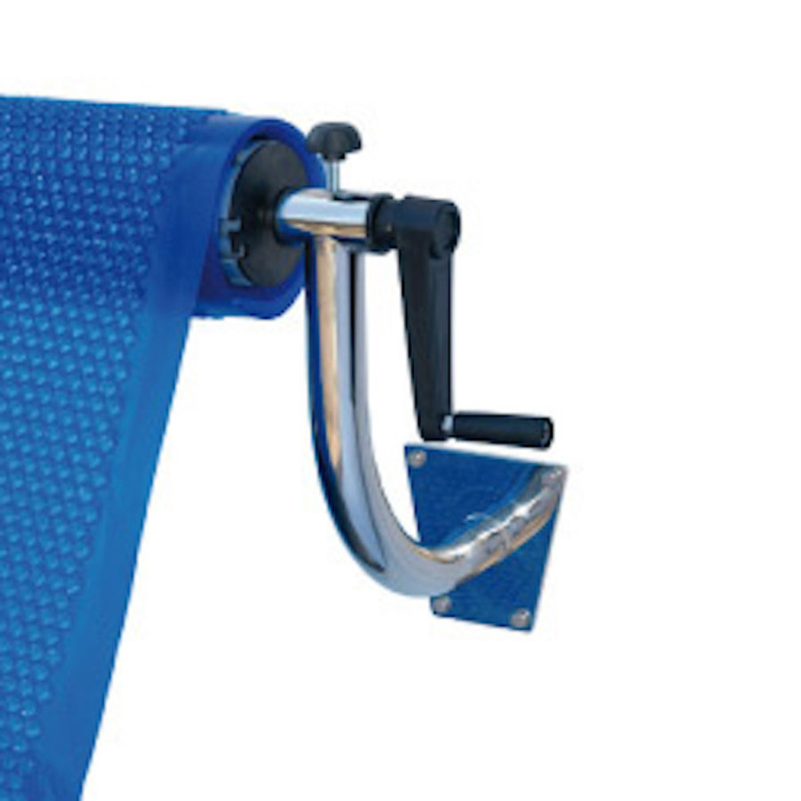 Roll-up system all-round for swimming pool cover