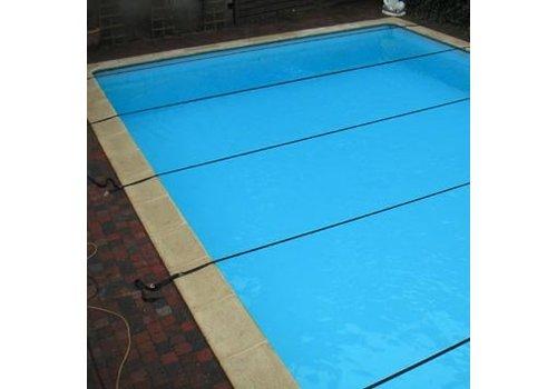 Pool cover lashing straps Winter