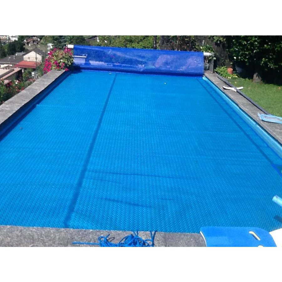 Bubble Blue/Silver 400 micron Geobubble pool cover