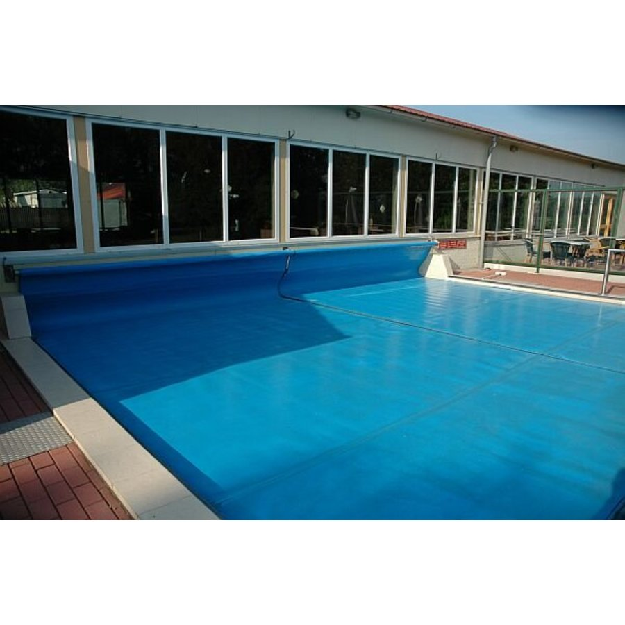 Insulating pool cover summer PE foam 6mm - Blue