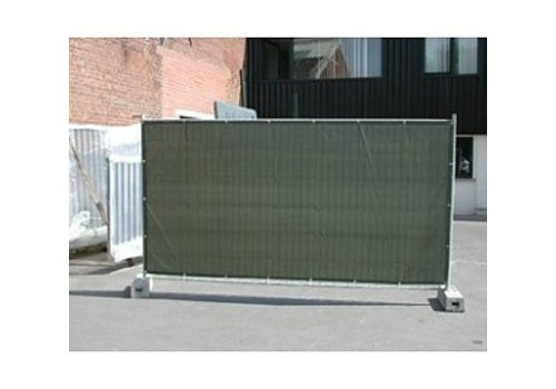 Fence tarp PE 150 - Green