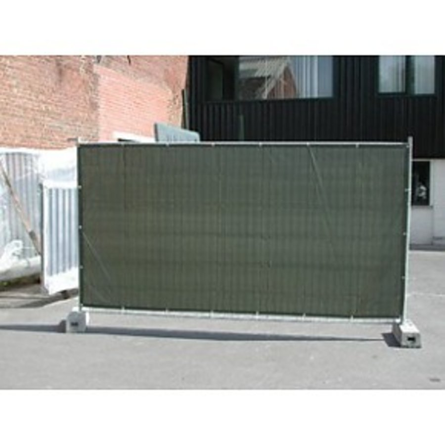 Lichtgewicht Bouwhekzeil PE 150 gr/m² - Groen