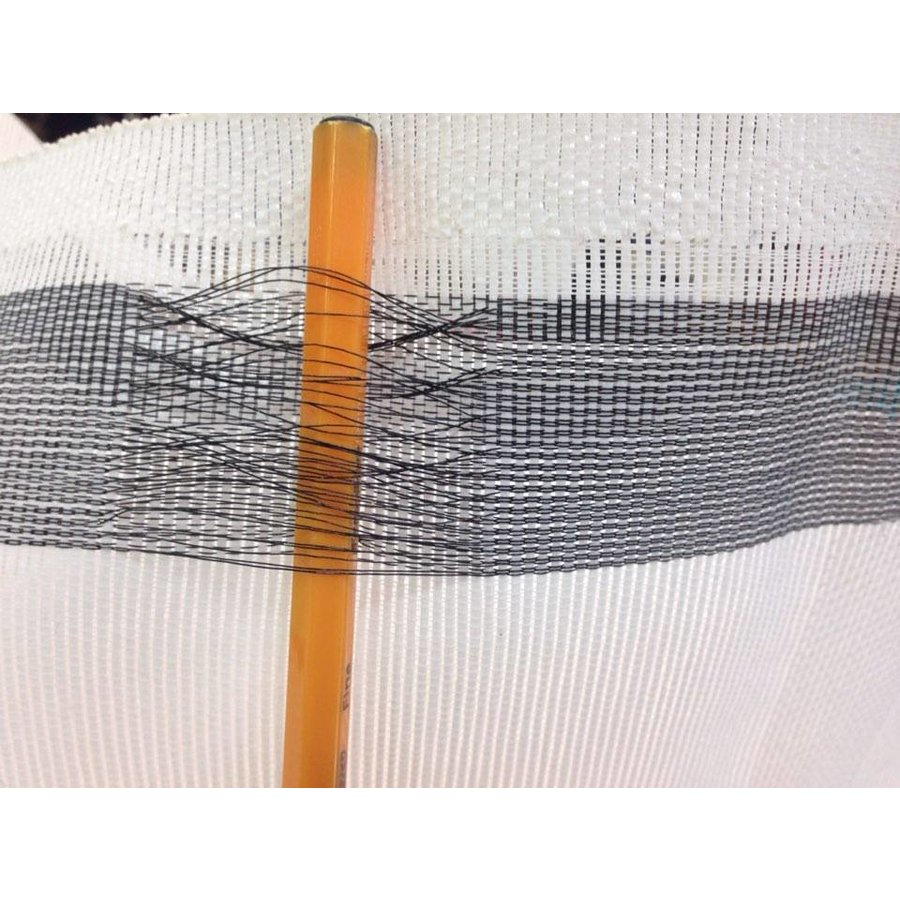 Scaffolding net 90% wind reduction - White