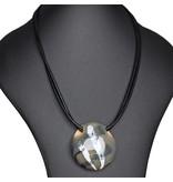 Kazuri Halsketten Kettenanhänger aus Keramik