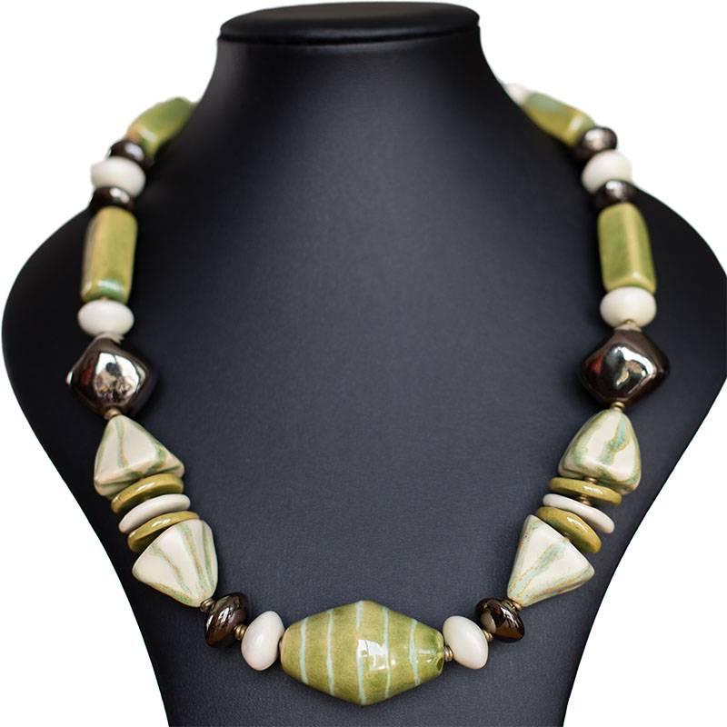 Kazuri Halsketten Schmuck-Trend 2016