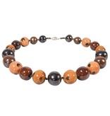 Kazuri Halsketten Afrika Look - Halskette mit Farben der Savanne