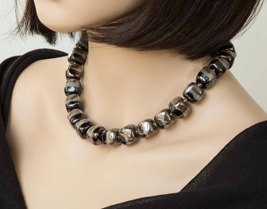 Kazuri Halsketten Schmuck aus Fairem Handel