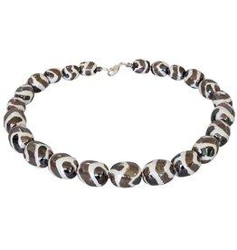 Kazuri Halsketten Mini Charleston Oyster