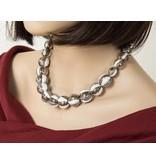 Kazuri Halsketten Halskette mit den Farben eines Caffe Latte