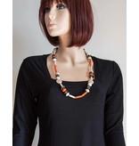Kazuri Halsketten Afrika Schmuck Farbenfroh
