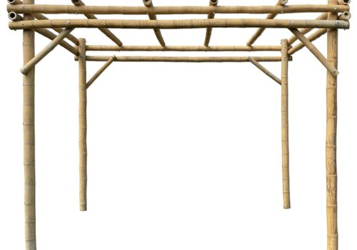 Bamboe Pergola - NATUREL