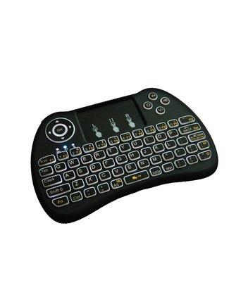H9 Mini Backlite Draadloos Toetsenbord / Multi-Touchpad