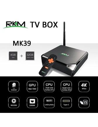 RKM / Rikomagic MK39 | Rockchip RK3399 | HexaCore (6-Cores) | Androidbox | Mini PC