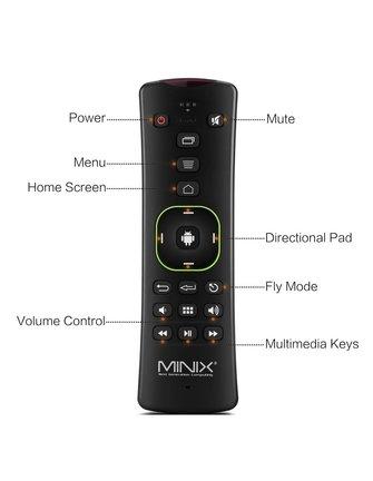 MINIX NEO A2 LITE V2 Flymouse / Tastatur mit vielen nützlichen Funktionen.