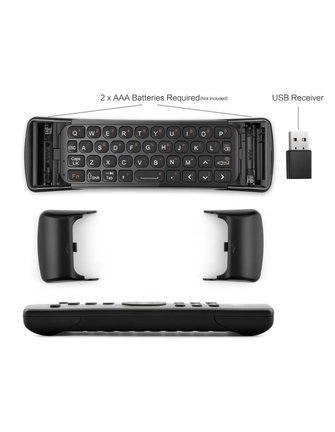 MINIX NEO A3 Flymouse / Keyboard with a wide range of useful functions.