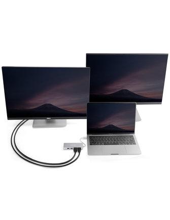 MINIX NEO C Plus, USB-C-Multiport-Adapter (zwei HDMI)