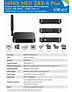 MINIX NEO Z83-4 PLUS (4GB DDR4 RAM/64GB eMMC ROM) 64-BIT WINDOWS 10 PRO SERIE MINI PC / TV BOX MET VESA MOUNT