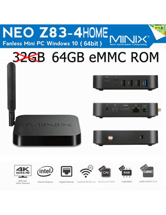MINIX NEO Z83-4 HOME WINDOWS TV BOX |  MINI PC