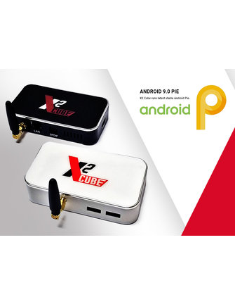 ANDROIDBOX X2 CUBE AMLOGIC S905X2  TV STICK