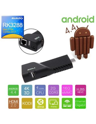 RKM / Rikomagic RKM V5 / RIKOMAGIC V5 ROCK CHIP RK3288 ANDROID TV STICK / STICK ANDROID / MINI PC