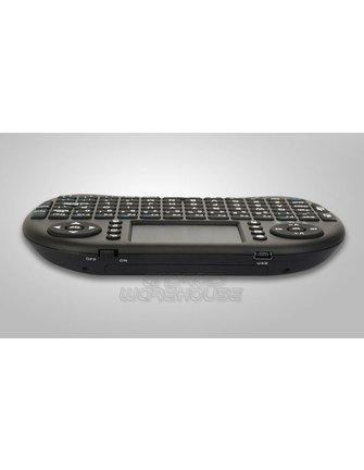 Riitek Mini I8+ MultiTouch Draadloos Toetsenbord + Multi-Touchpad