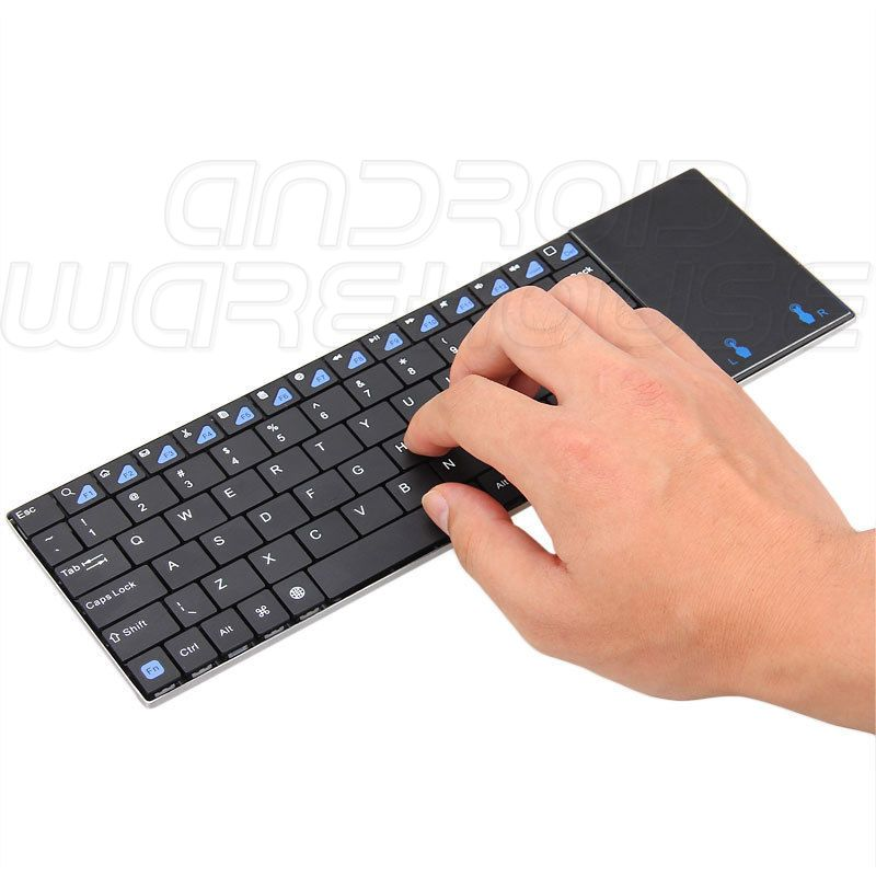 Rii Mini K12 Ultra Slim Keyboard / Touchpad 2 4GHz - Android-Warehouse