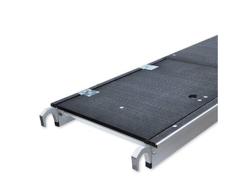 Euroscaffold Platform met luik 400 cm Carbondeck (lichtgewicht)