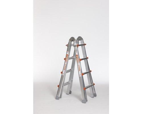 Waku Ladders Waku Multifunctionele Ladder 4x4