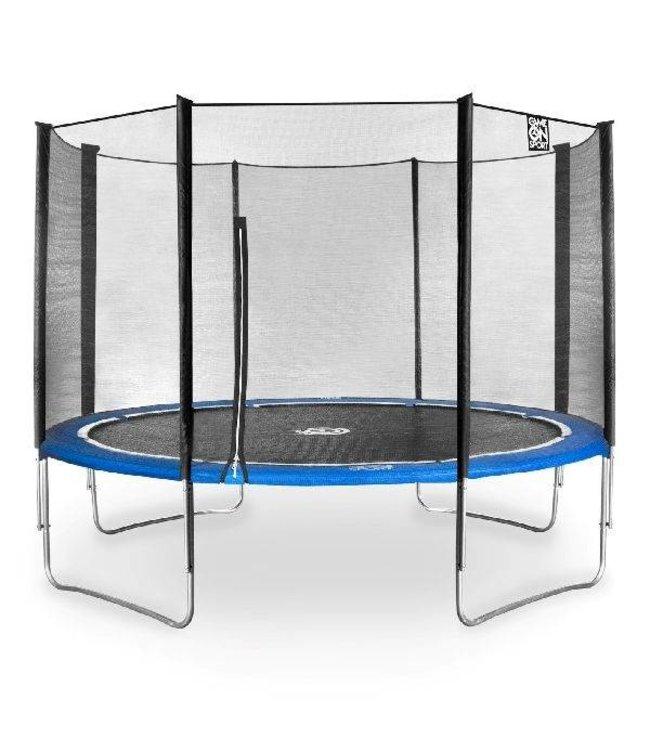 Game On Sport Game On Sport Jumpline Trampoline Set 366 cm Blauw