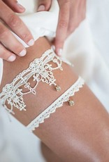 Nadelspitze Strumpfband Diamond Couture