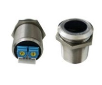 Infrared touchless switch round 24 mm surface mounted