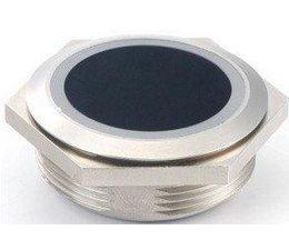 Infrarood contactloze schakelaar rond 39 mm inbouw met twee-kleuren LED ring