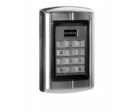 SmartKing™ Breed pin EM badge lezer.12-18Vac of 12-24Vdc.1 relais, 2000 gebruikers