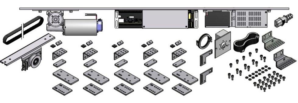 EDSL450 sliding door retrofit kit