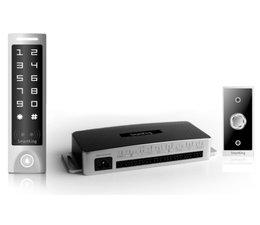 SmartKing™ Stand-alone ,aanraakscherm,pin en EM en HID badge, 12_14 Vdc, deurbel en druknop