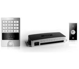SmartKing™ Breed pin en Mifare 13.56 MHz badge ,12_14 Vdc, deurbel en druknop