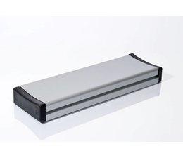 Elleboogschakelaar aluminium, vandaal bestendig (245x80x28 mm)
