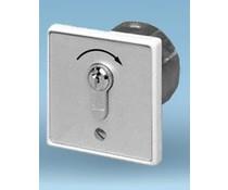 Schlüsselschalter unterputz, Pulskontakt