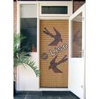 Miami ® Flying Curtain Miami Swallows - gebrauchsfertig 92 x 209