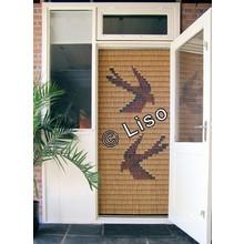 Miami ® Vliegengordijn Miami Zwaluwen - kant en klaar 92 x 209