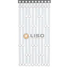 Liso ® Vliegengordijn Wit - kant en klaar 92 x 209