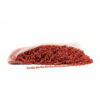 Kettinggordijn Liso ® Ketting zak a 50 meter Rood