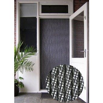 Manacor® Vliegengordijn Manacor/Helena 100x230 Zwarte kern