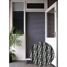 Manacor® Vliegengordijn Manacor/Helena Zwarte kern  kant en klaar 100x260