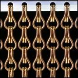 Kettinggordijn Liso ® ANGEBOT Kettenvorhang Bronze - 100 x 260